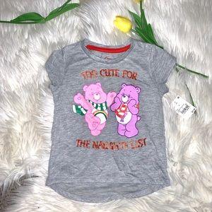 Care Bears Girls 3T Christmas Shirt
